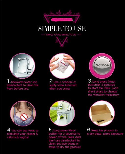 Nalone Dixie Silicone Massage Stick